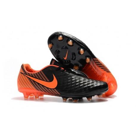 Nouvelles Nike - Crampons Nike Magista Opus II FG Noir Blanc Rouge Université