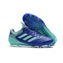 Nouveau Crampons Football Adidas Copa 18.1 FG Bleu