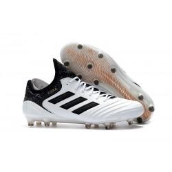 Nouveau Crampons Football Adidas Copa 18.1 FG Blanc Noir Tactile Gold Metallic