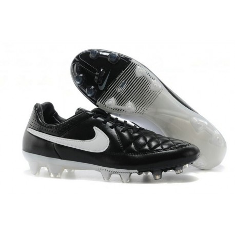 huge discount 520b0 9d7db ... ebay 2014 2015 chaussures football nike tiempo legend 5 fg noir blanc  ee067 d1b9e