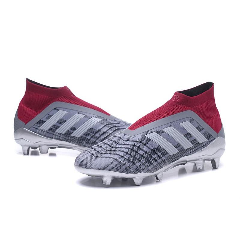 Nouveau Predator Rouge 18 Foot Fg Adidas Gris Chaussures Pogba De DE9WH2IY