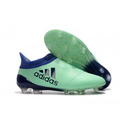 Crampons de Foot adidas X 17+ Purespeed FG Vert Aero Encre Vert