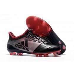 Crampons de Football - Adidas X 17.1 FG pour Hommes Rose Noir