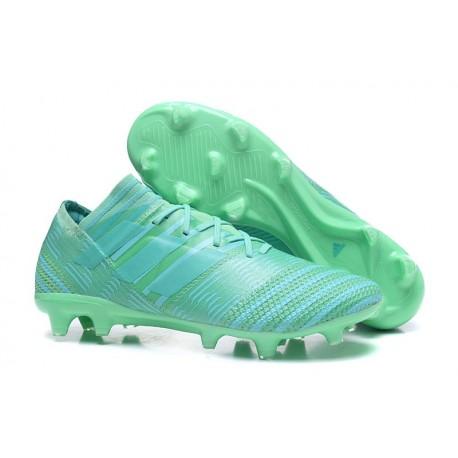 Nouveau Chaussures Football Adidas Nemeziz Messi 17.1 FG Vert