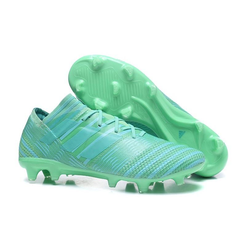 17 Nemeziz Chaussures 1 Nouveau Vert Messi Fg Adidas Football WYDH9E2I