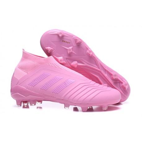 Nouveau Chaussures de Foot Adidas Predator 18+ FG Rose