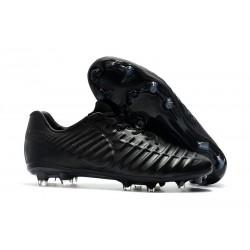 Nouvelles Crampons Nike pour Hommes - Tiempo Legend 7 FG Tout Noir
