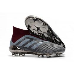 Nouveau Chaussures de Foot Adidas PP Predator 18+ FG Iron Metallic