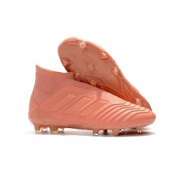 Nouveau Chaussures de Foot Adidas Paul Pogba Predator 18+ FG Rose