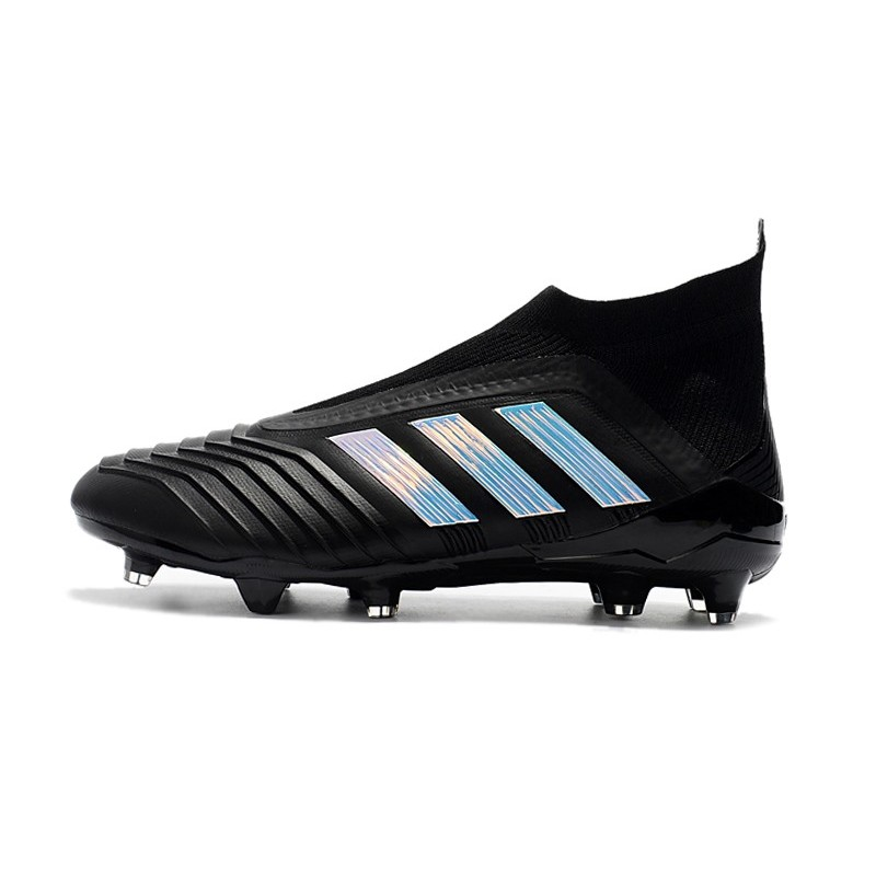 De Noir Adidas 2018 Predator Chaussures 18Fg Foot Argent Nouveau qzVSMpU