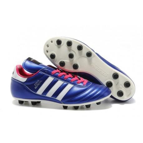 2014 pas cher Coupe du monde Adidas Copa Mundial FG Soccer chaussures Samba Violet Blanc