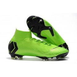 Chaussure de Cristiano Ronaldo CR7 Nike Mercurial Superfly VI 360 Elite FG Jade clair métallisé or vif blanc