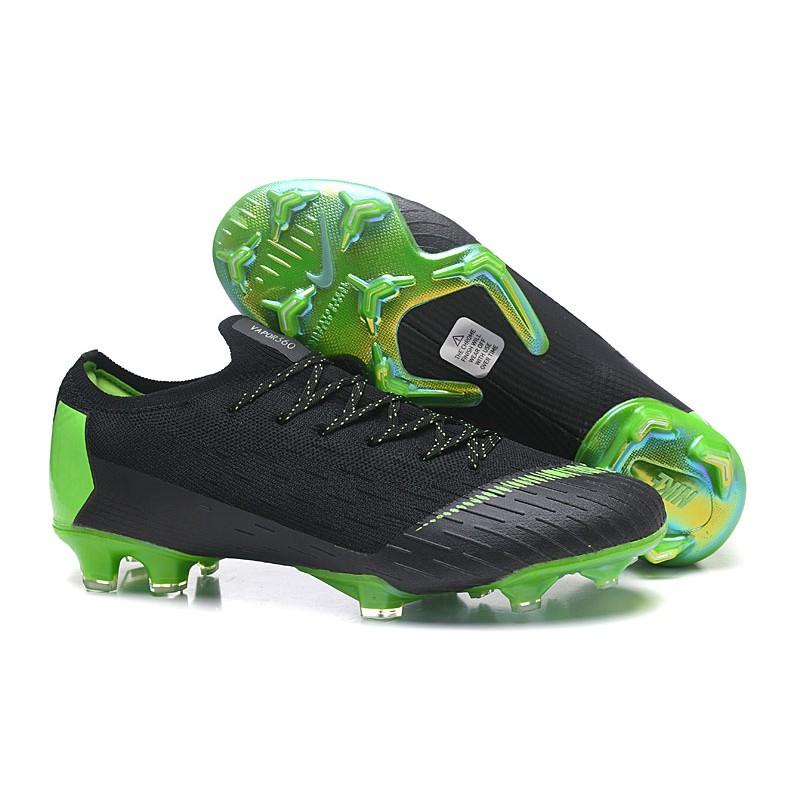 separation shoes e1aa5 266ad Nike Mercurial Vapor XII Elite FG - Chaussures de Football Hommes Noir  Orange Total Blanc ...