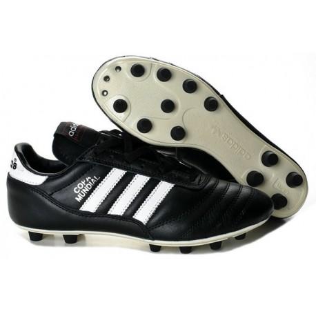 2014 pas cher Coupe du monde Adidas Copa Mundial FG Soccer chaussures Noir Blanc