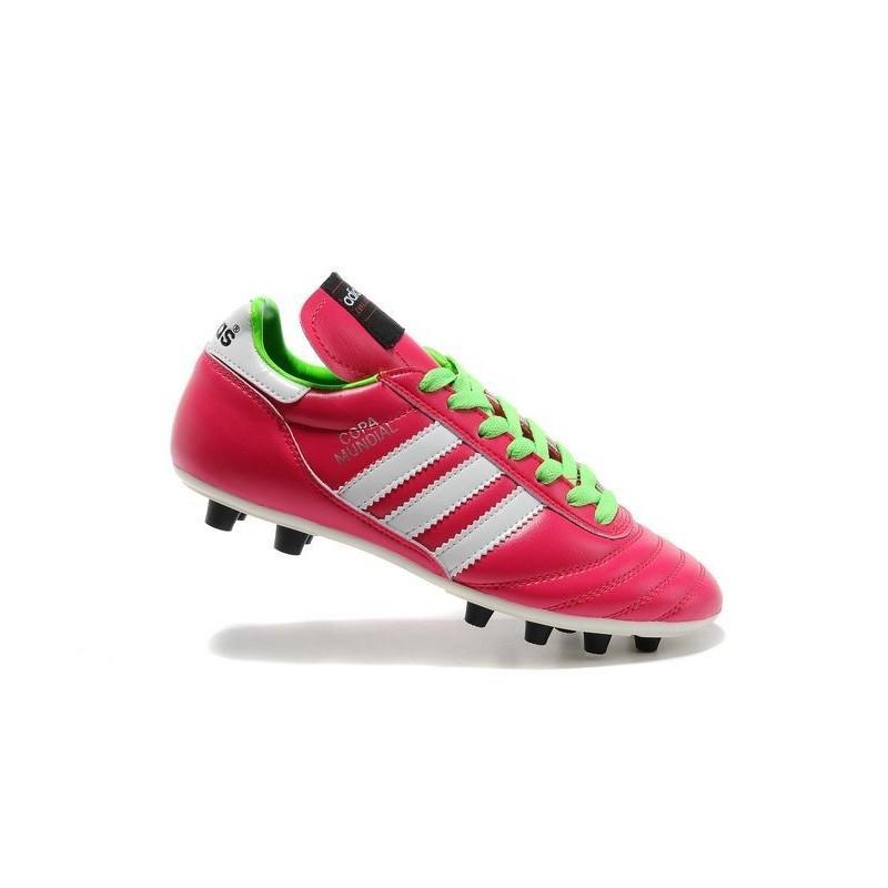93d07ddf69a3 ... czech nouveau crampons de foot adidas copa mundial fg hommes samba rose  blanc 4867e be274