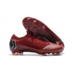 Nike Mercurial Vapor XII Elite FG - Chaussures de Football Hommes Rouge Noir