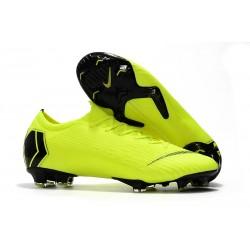 Nike Mercurial Vapor XII Elite FG - Chaussures de Football Hommes Jaune Fluorescent