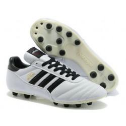 2014 pas cher Coupe du monde Adidas Copa Mundial FG Soccer chaussures Blanc Noir