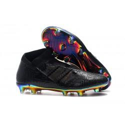 Nouvelles Crampons de Foot adidas Nemeziz 18+ FG - Noir