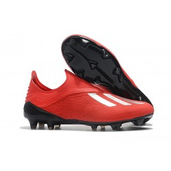 Nouvelles - Chaussures Football adidas X 18+ FG - Argent Rouge