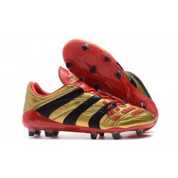 Nouvelles - Crampons Adidas Predator Accelerator Electricity FG Or Rouge Noir